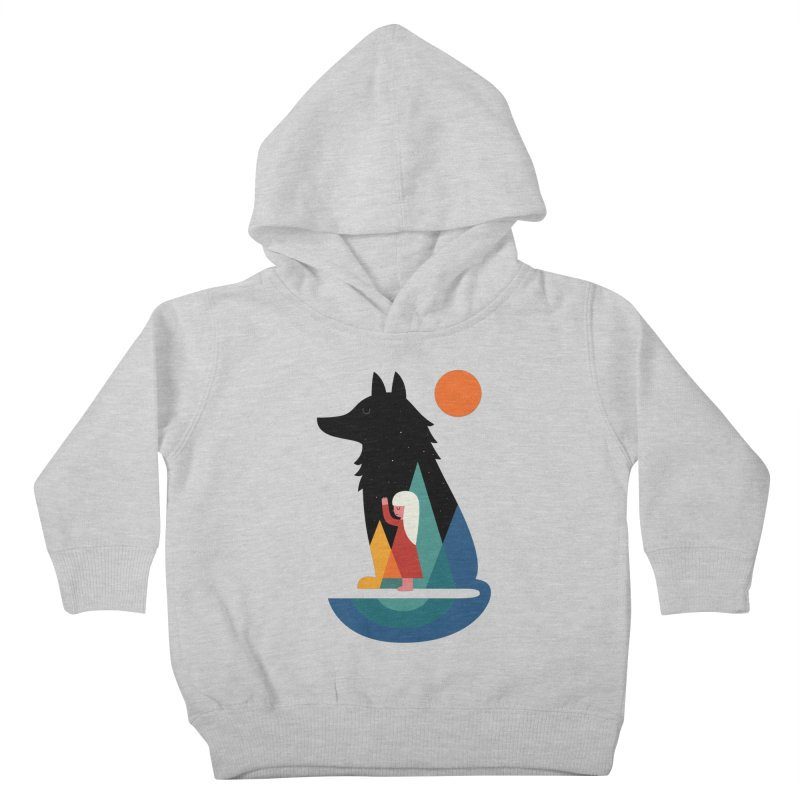 Best Friend Kids Toddler Pullover Hoody by andywestface's Artist Shop