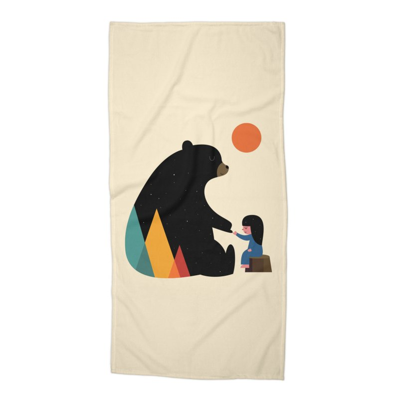 Promise Girl Accessories Beach Towel by andywestface's Artist Shop
