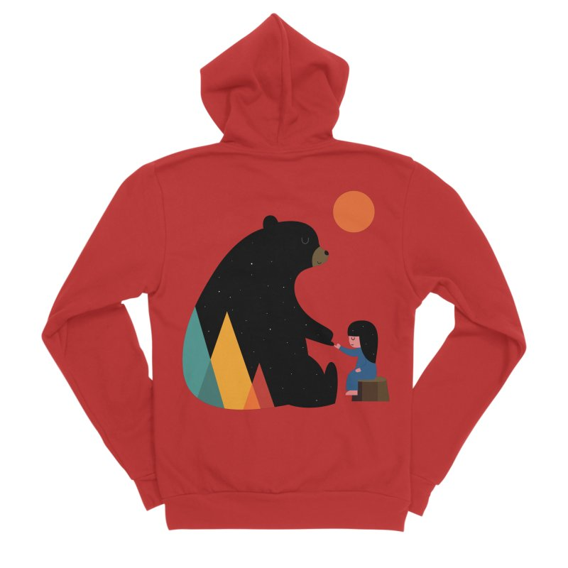 Promise Girl Women's Zip-Up Hoody by andywestface's Artist Shop