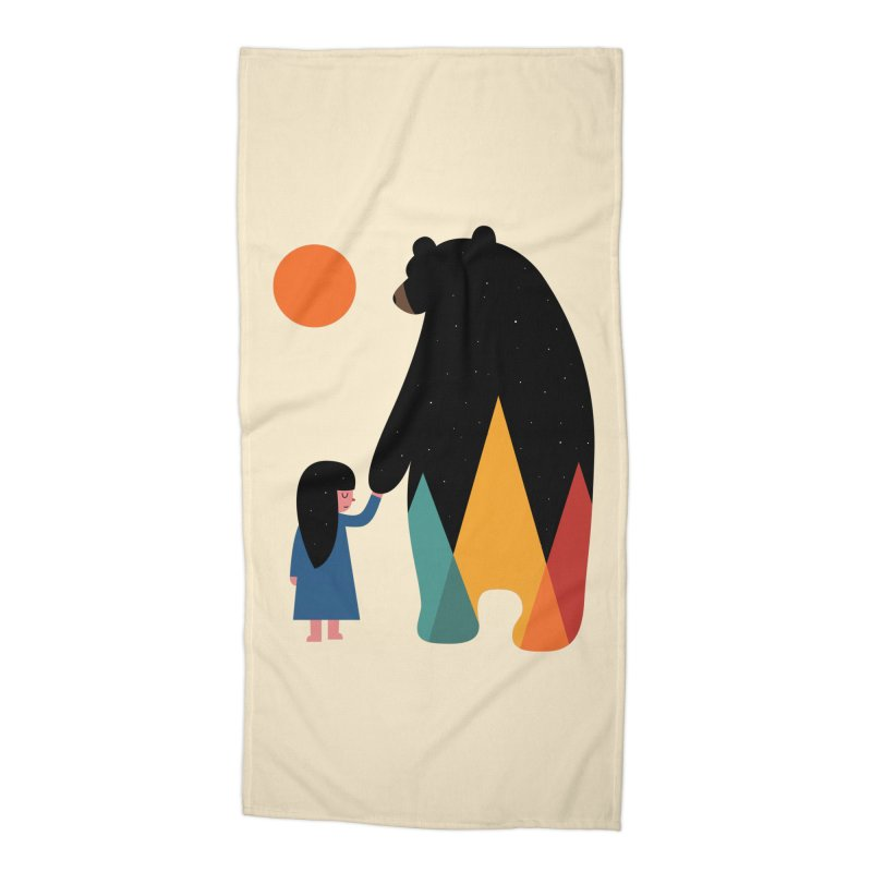Go Home Accessories Beach Towel by andywestface's Artist Shop