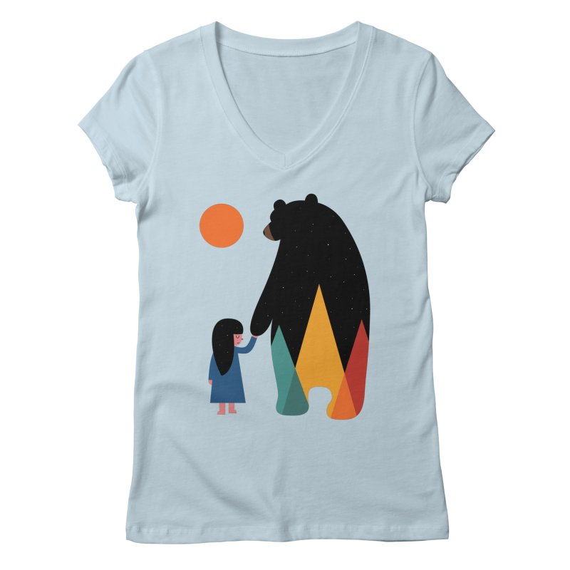 Go Home Women's V-Neck by andywestface's Artist Shop
