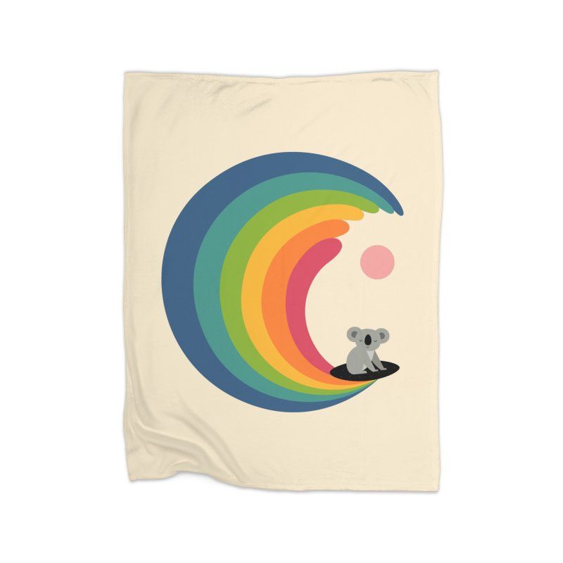Dream Surfer Home Blanket by andywestface's Artist Shop