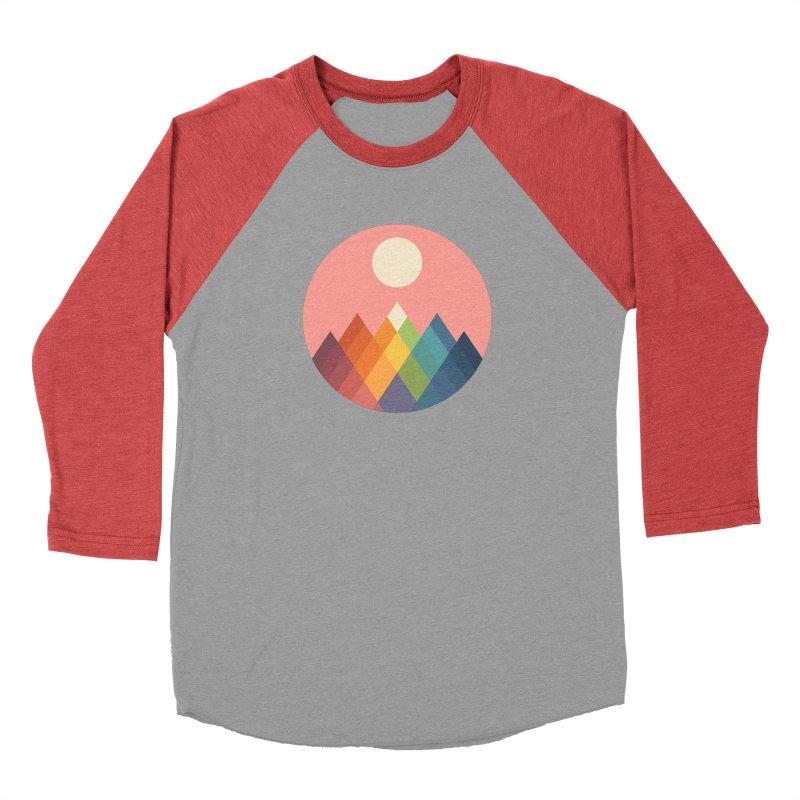 Rainbow Peak Men's Longsleeve T-Shirt by andywestface's Artist Shop