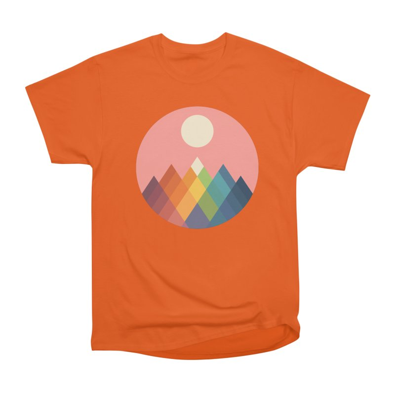 Rainbow Peak Men's T-Shirt by andywestface's Artist Shop
