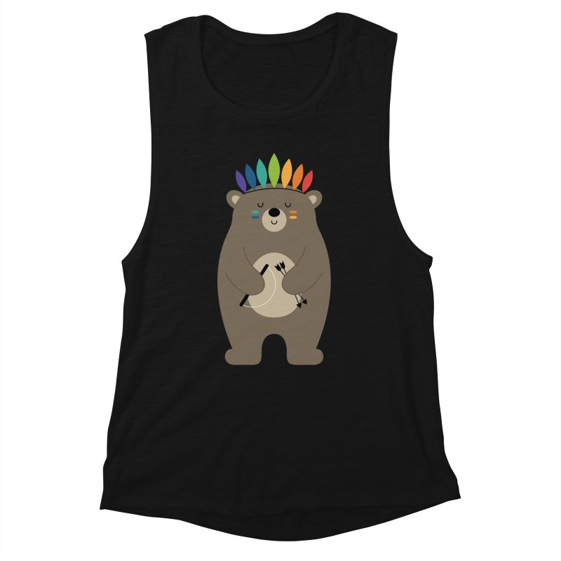 Be Brave Women's Tank by andywestface's Artist Shop