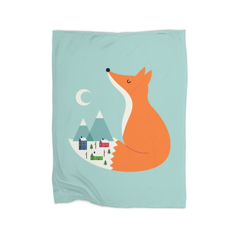 Winter Dreams Home Blanket by andywestface's Artist Shop