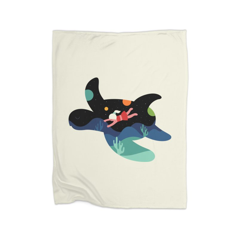 Ocean Roaming Home Blanket by andywestface's Artist Shop