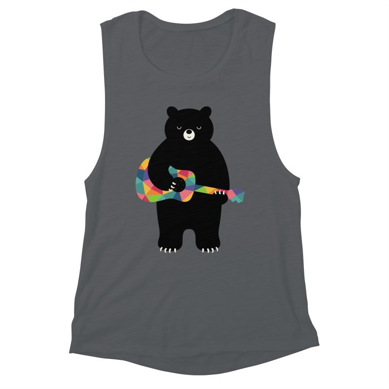 Happy Song Women's Tank by andywestface's Artist Shop