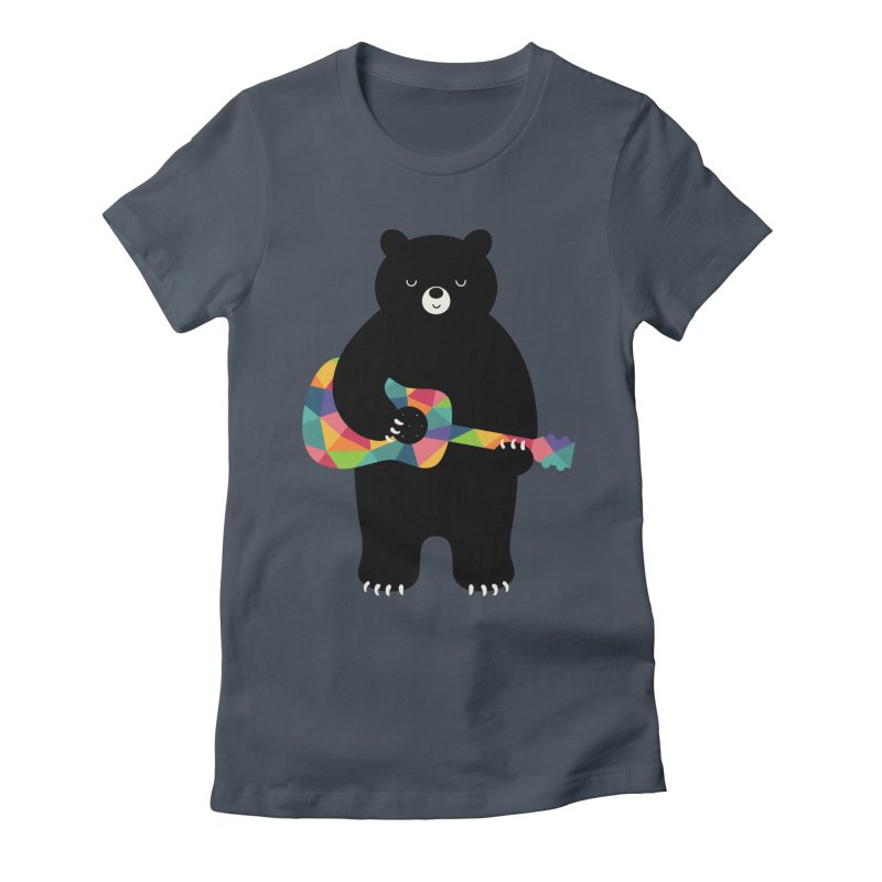 Happy Song Women's T-Shirt by andywestface's Artist Shop