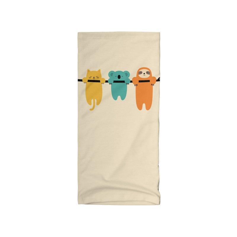 Hang In There Accessories Neck Gaiter by andywestface's Artist Shop