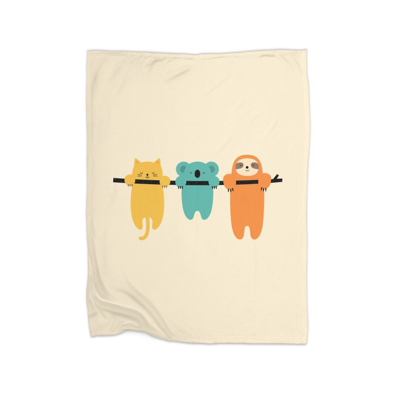 Hang In There Home Blanket by andywestface's Artist Shop