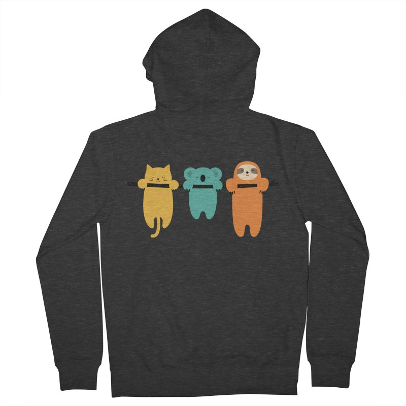 Hang In There Women's Zip-Up Hoody by andywestface's Artist Shop