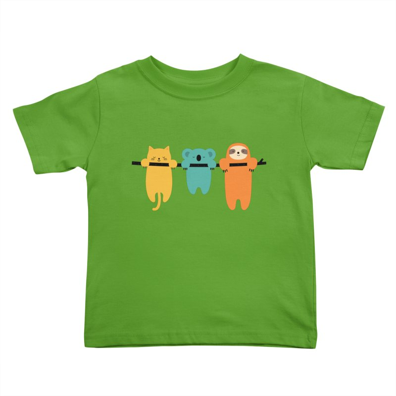 Hang In There Kids Toddler T-Shirt by andywestface's Artist Shop