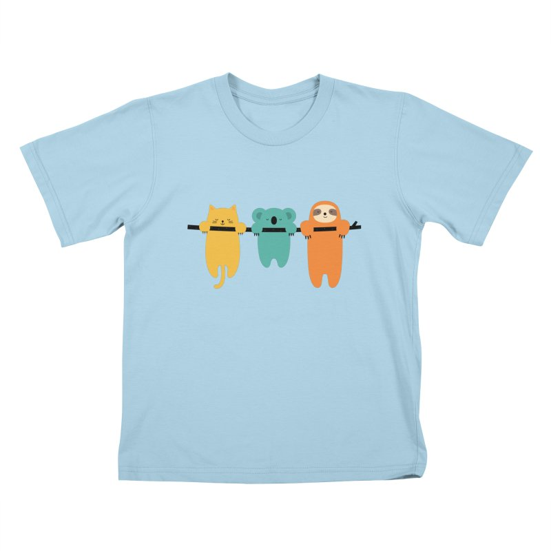 Hang In There Kids T-Shirt by andywestface's Artist Shop