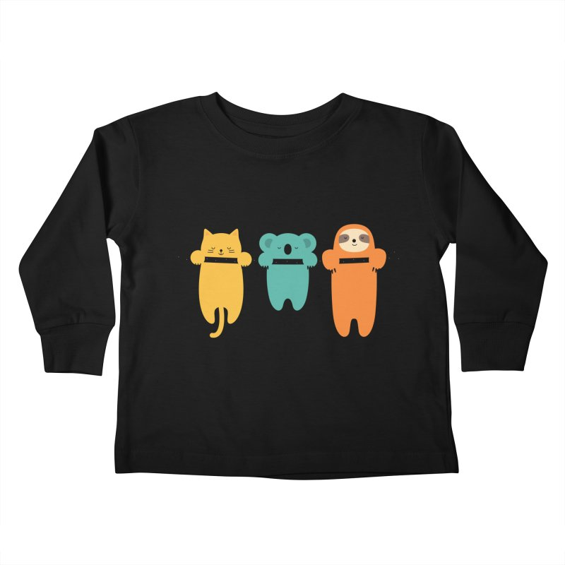 Hang In There Kids Toddler Longsleeve T-Shirt by andywestface's Artist Shop