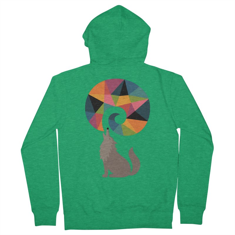 Dream Out Loud Women's Zip-Up Hoody by andywestface's Artist Shop