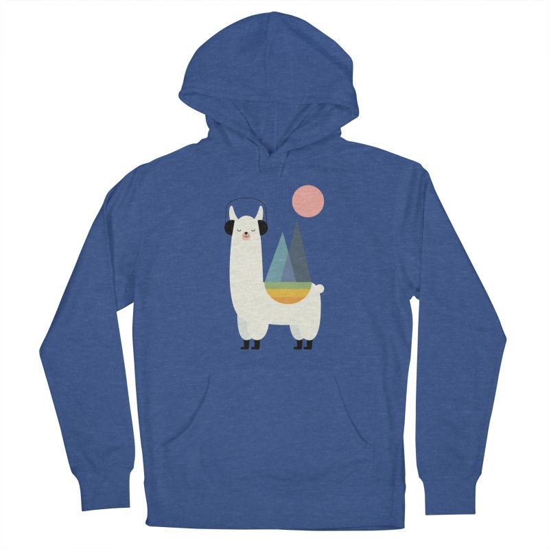 Llamazing Men's Pullover Hoody by andywestface's Artist Shop