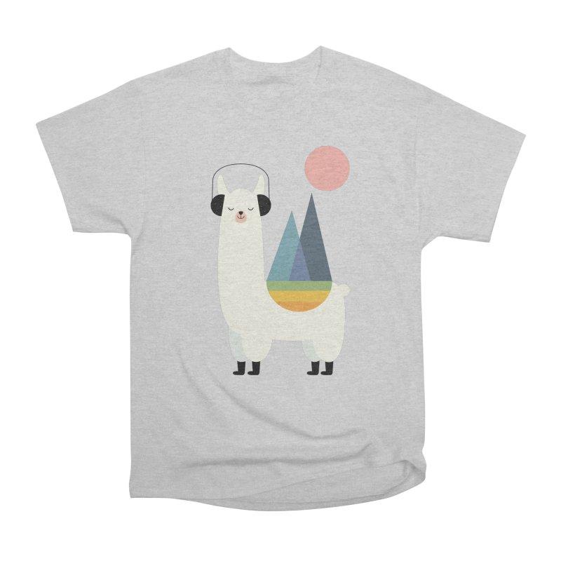 Llamazing Men's T-Shirt by andywestface's Artist Shop