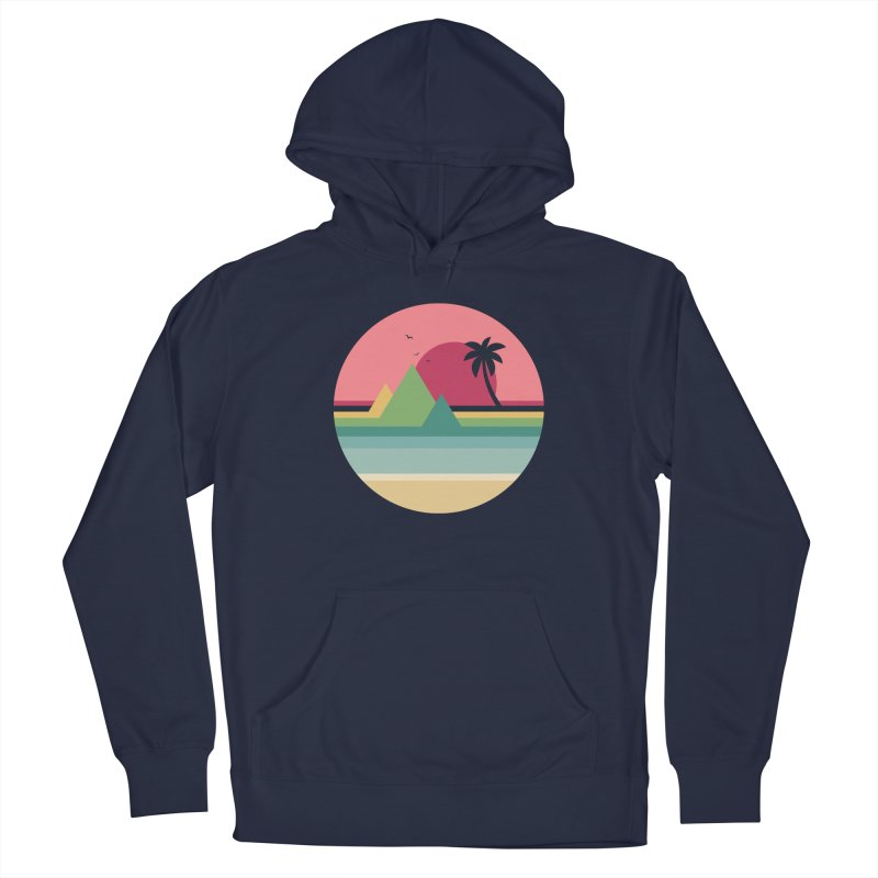Tropical Sunset Men's Pullover Hoody by andywestface's Artist Shop