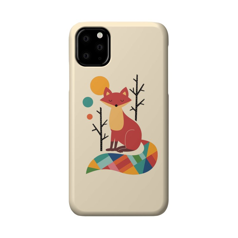 Rainbow Fox Accessories Phone Case by andywestface's Artist Shop