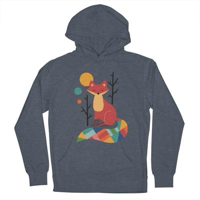 Rainbow Fox Women's Pullover Hoody by andywestface's Artist Shop
