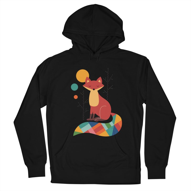 Rainbow Fox Men's Pullover Hoody by andywestface's Artist Shop