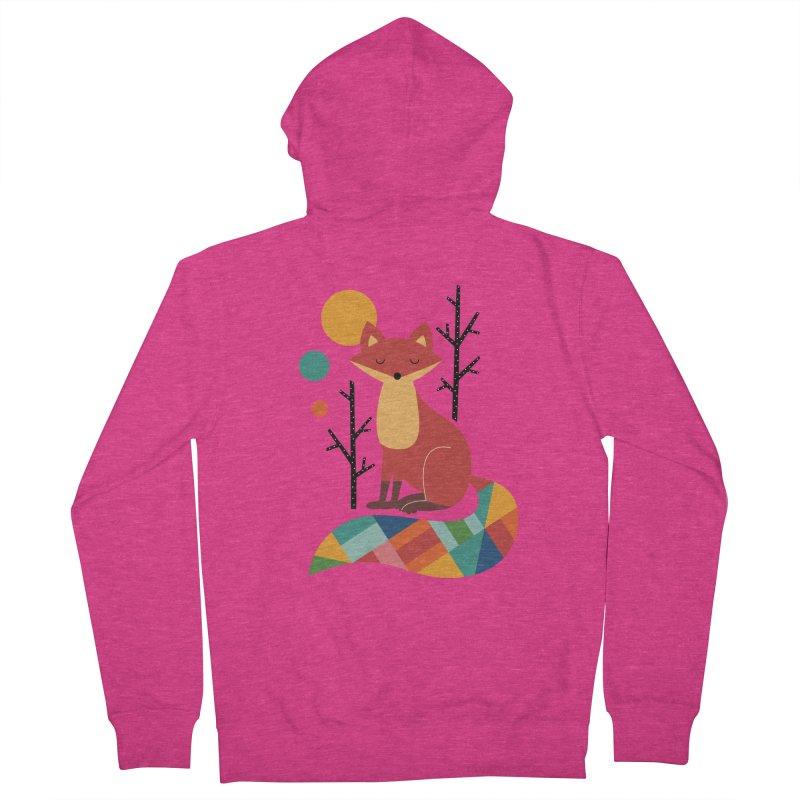 Rainbow Fox Women's Zip-Up Hoody by andywestface's Artist Shop