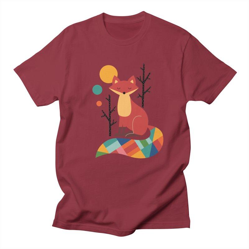 Rainbow Fox Women's Unisex T-Shirt by andywestface's Artist Shop