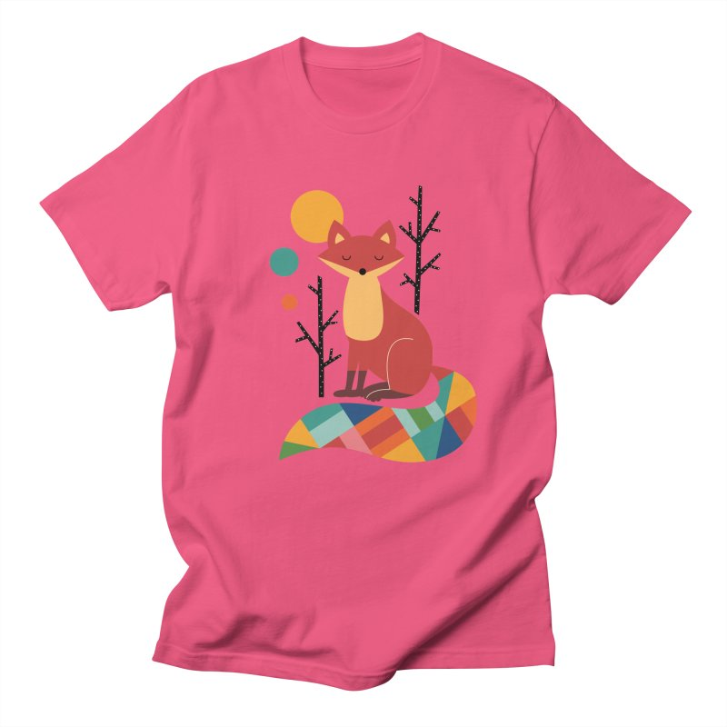 Rainbow Fox Women's Unisex T-Shirt by andywestface's Artist Shop