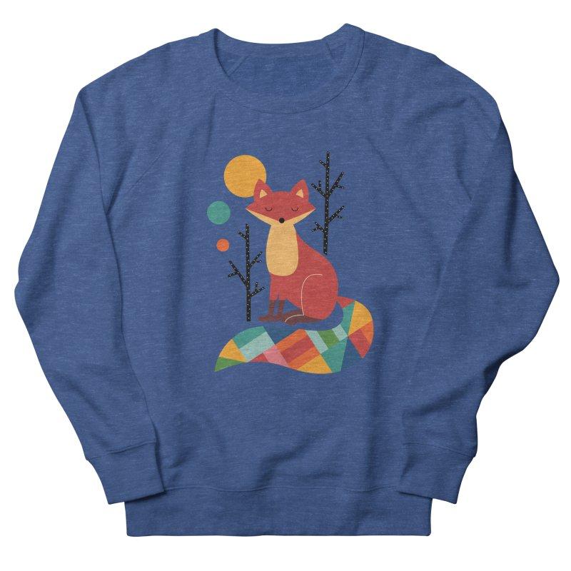 Rainbow Fox Women's Sweatshirt by andywestface's Artist Shop