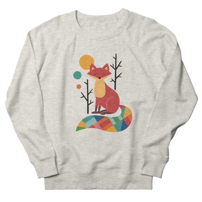 Rainbow Fox Men's Sweatshirt by andywestface's Artist Shop