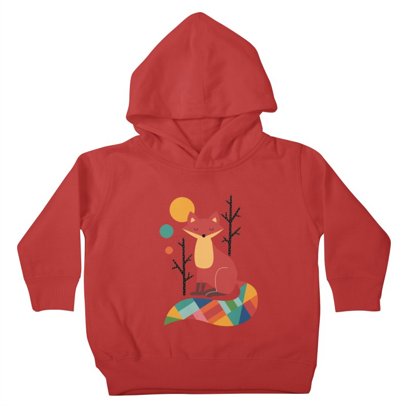 Rainbow Fox Kids Toddler Pullover Hoody by andywestface's Artist Shop