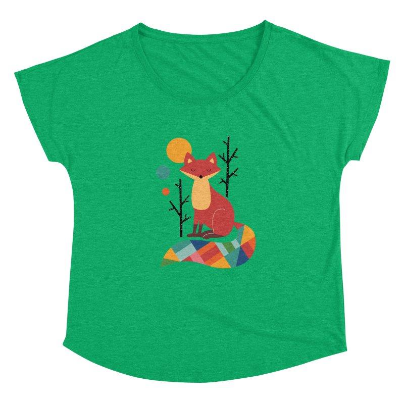 Rainbow Fox Women's Dolman by andywestface's Artist Shop