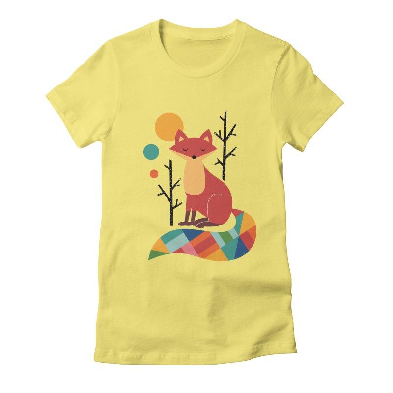 Rainbow Fox   by andywestface's Artist Shop