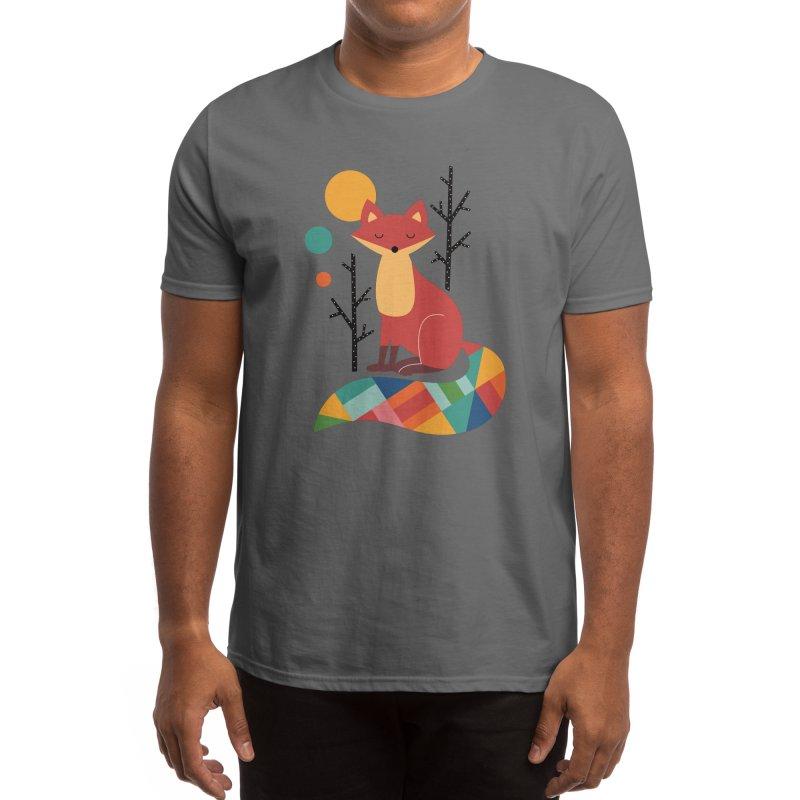 Rainbow Fox Men's T-Shirt by andywestface's Artist Shop