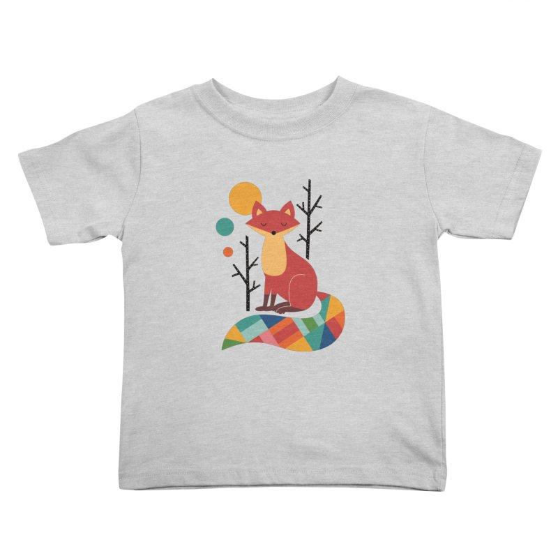 Rainbow Fox Kids Toddler T-Shirt by andywestface's Artist Shop
