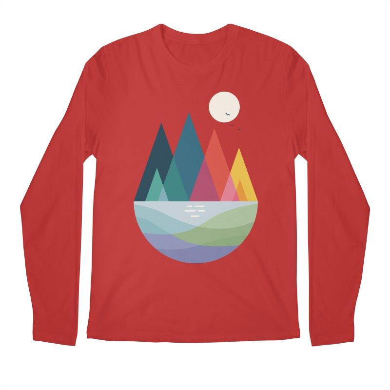 Somewhere Men's Regular Longsleeve T-Shirt by andywestface's Artist Shop