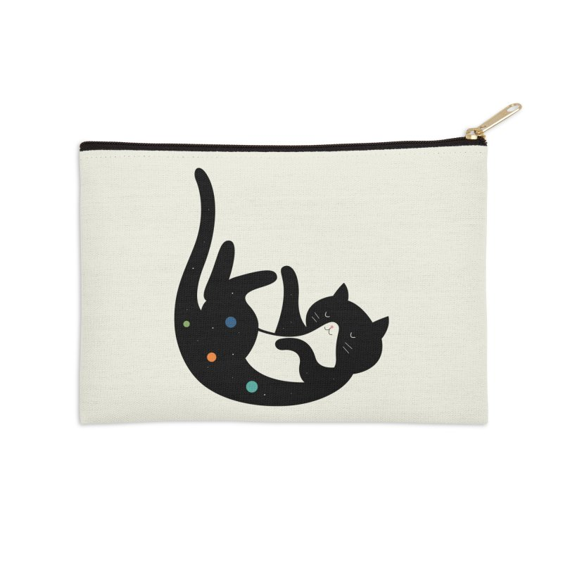 Falling Accessories Zip Pouch by andywestface's Artist Shop