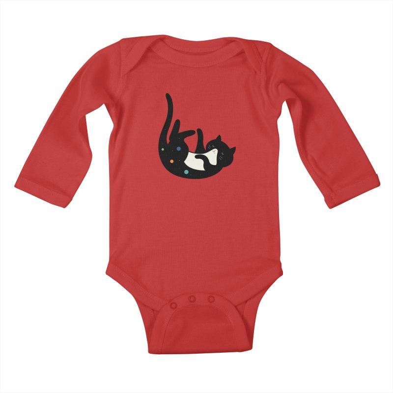 Falling Kids Baby Longsleeve Bodysuit by andywestface's Artist Shop
