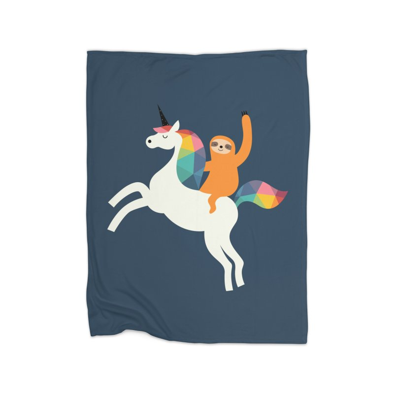 Magic Time Home Blanket by andywestface's Artist Shop