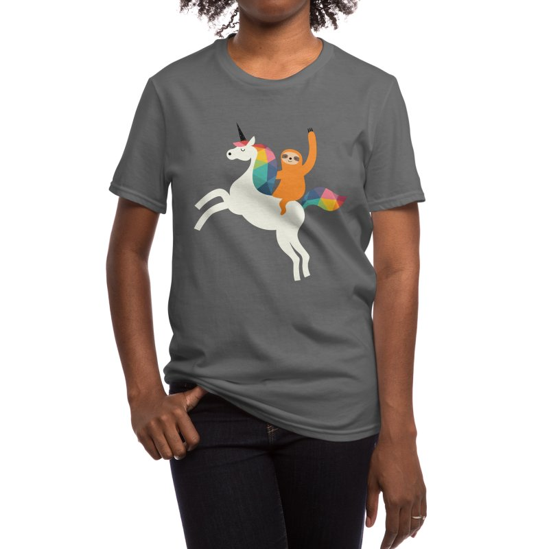 Magic Time Women's T-Shirt by andywestface's Artist Shop