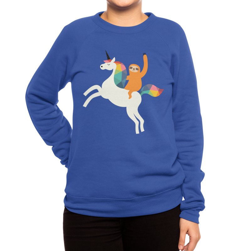 Magic Time Women's Sweatshirt by andywestface's Artist Shop