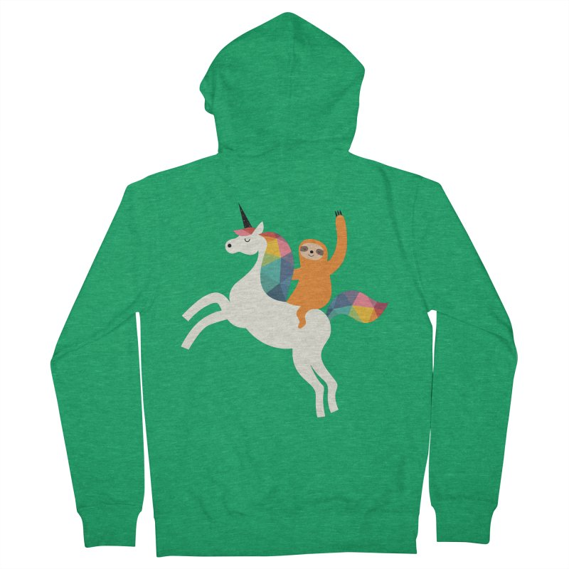 Magic Time Men's Zip-Up Hoody by andywestface's Artist Shop