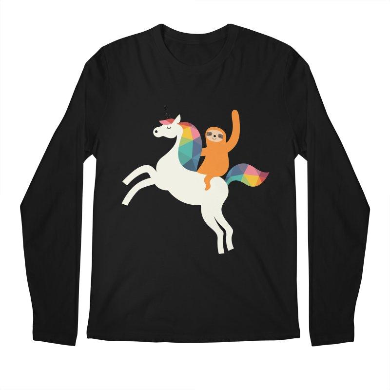 Magic Time Men's Regular Longsleeve T-Shirt by andywestface's Artist Shop