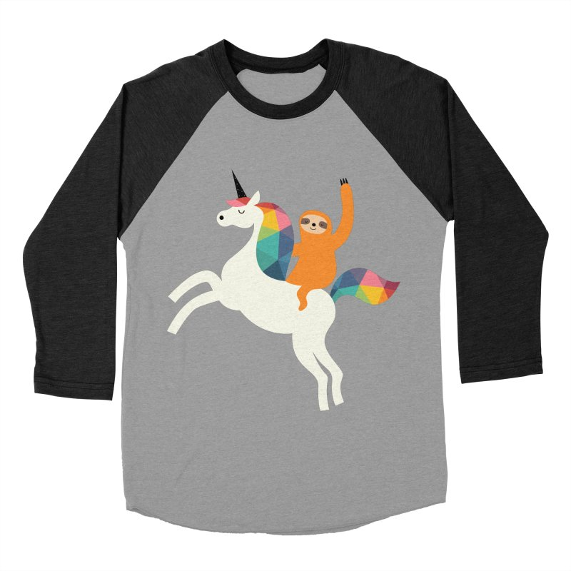 Magic Time Women's Baseball Triblend T-Shirt by andywestface's Artist Shop