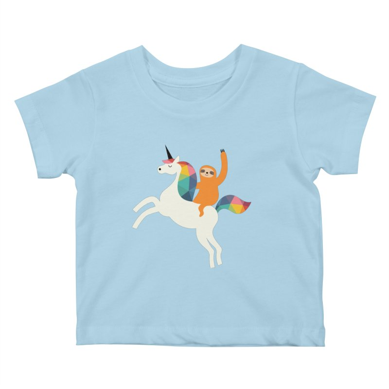 Magic Time Kids Baby T-Shirt by andywestface's Artist Shop