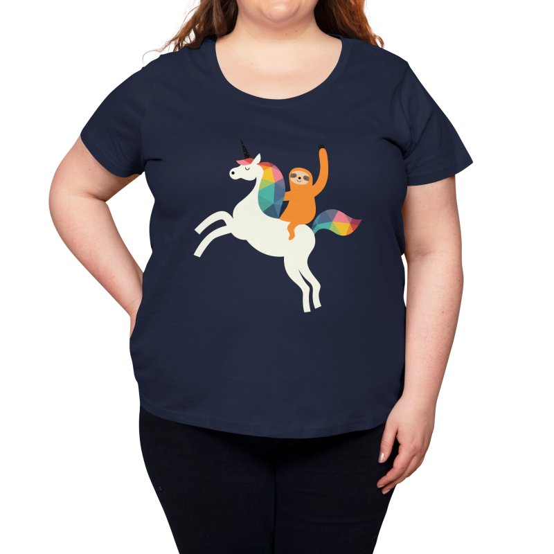 Magic Time Women's Scoop Neck by andywestface's Artist Shop