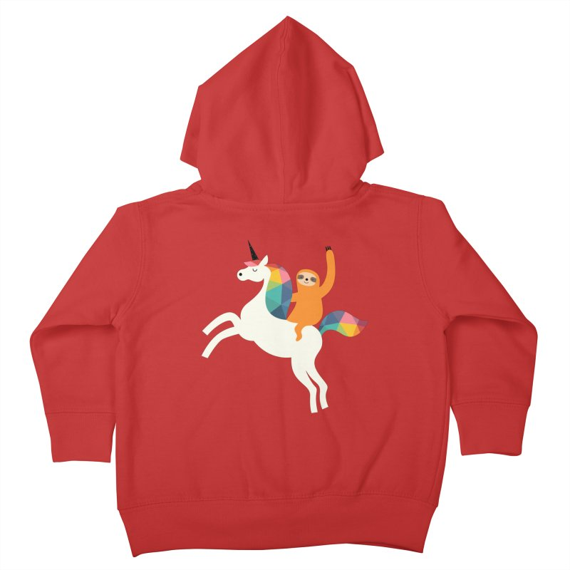 Magic Time Kids Toddler Zip-Up Hoody by andywestface's Artist Shop