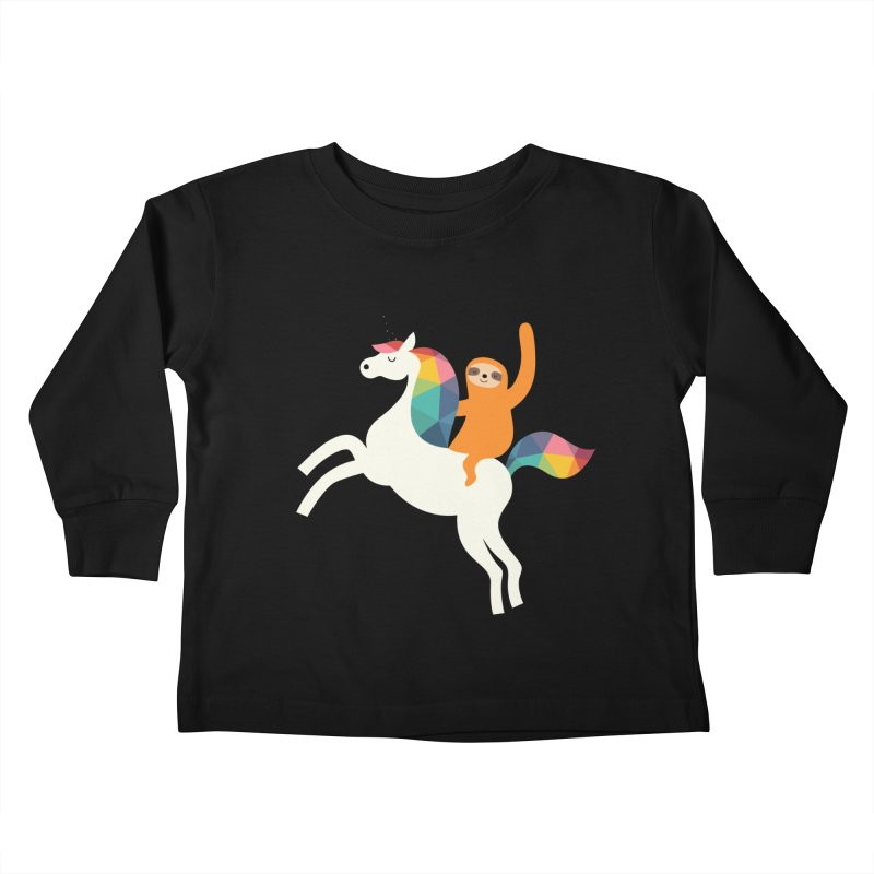 Magic Time Kids Toddler Longsleeve T-Shirt by andywestface's Artist Shop