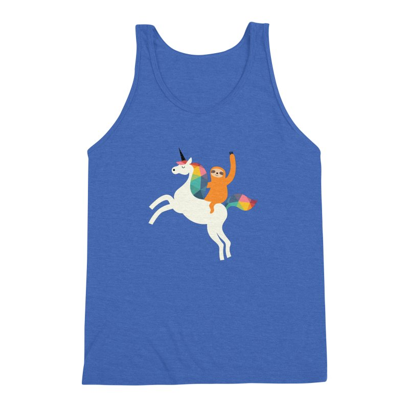 Magic Time Men's Triblend Tank by andywestface's Artist Shop